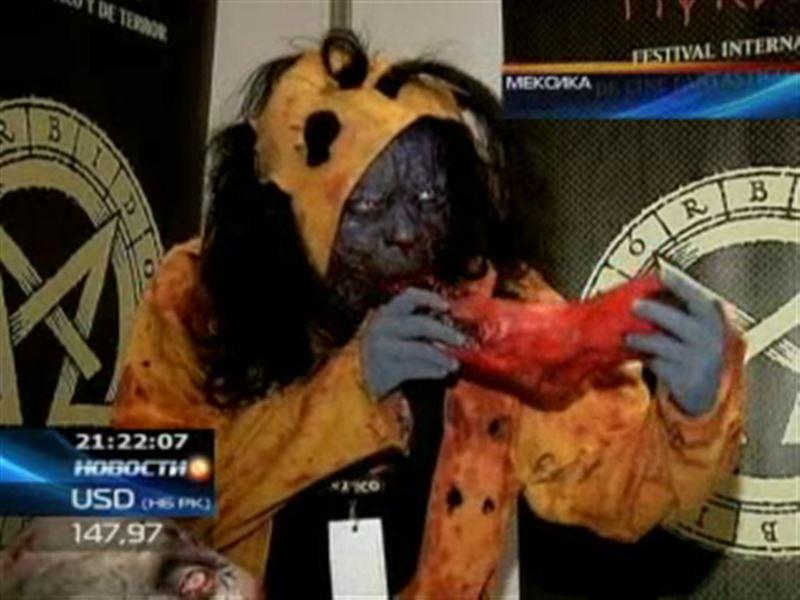 В Мексике уже начали праздновать Хэллоуин