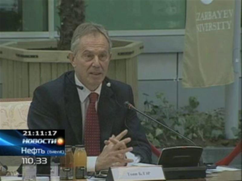 Тони Блэр будет консультировать казахстанское правительство
