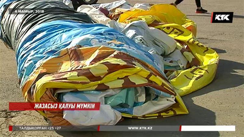 Астанада аударылған батут астында қалған балалардың ата-аналары кәсіпкерге кешірім берді