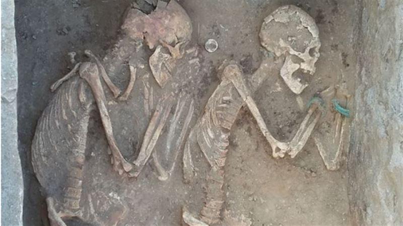 Погребенных «Ромео и Джульетту» обнаружили под Карагандой
