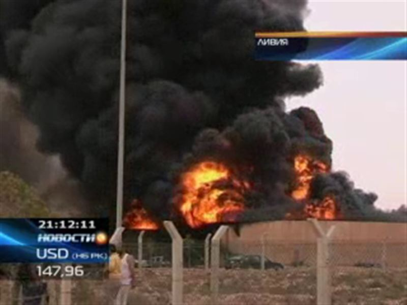 В ливийском Сирте прогремел мощный взрыв