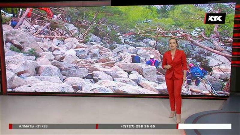 Под сильнейшим камнепадом в горах Кыргызстана погиб алматинец