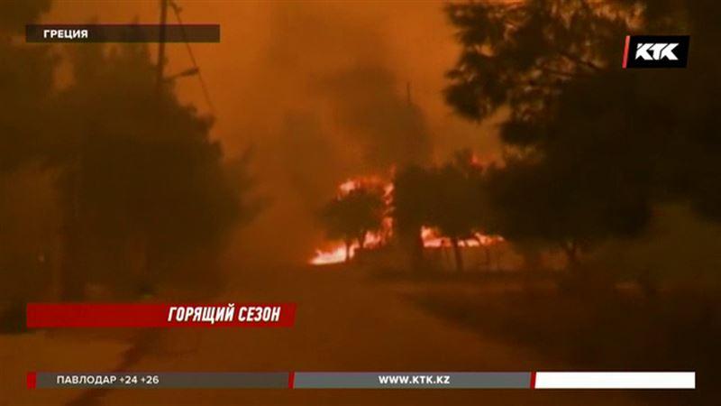 Пожар в Греции: погибло больше 90 человек