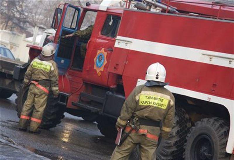 Две женщины стали жертвами пожара в Алматинской области