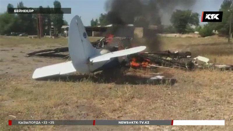 Алматы облысында апатқа ұшыраған ұшақты пилот мас күйінде басқарған