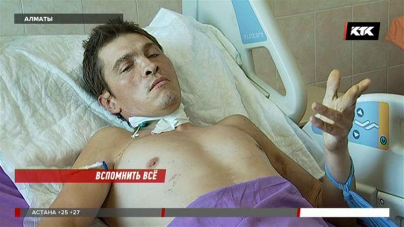 Алматинские врачи ищут родственников пациента, потерявшего память