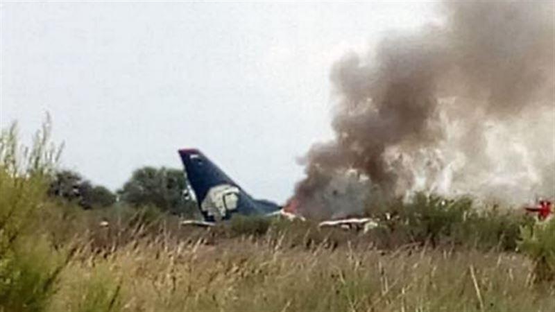Пилот потерпевшего аварию в Мексике самолета пришел в сознание