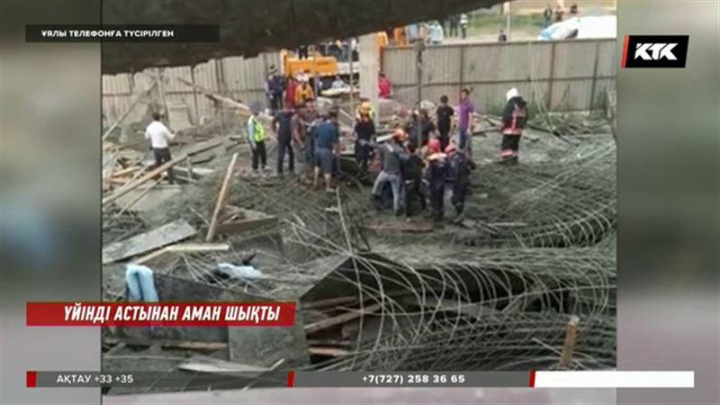 Астанада өлім аузынан тірі қалған құрылысшылар келісім-шартсыз жұмыс істеген