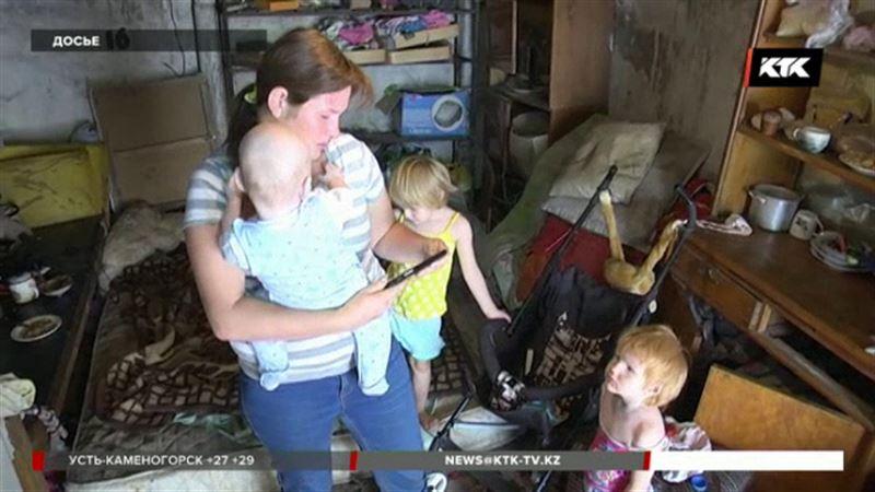 Семью из гаража уральские чиновники поместили в кризисный центр