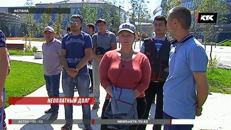 Сотни рабочих, строившие ЭКСПО, до сих пор не получили зарплату