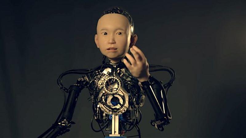 Эмоционального ребенка-андроида создали в Японии