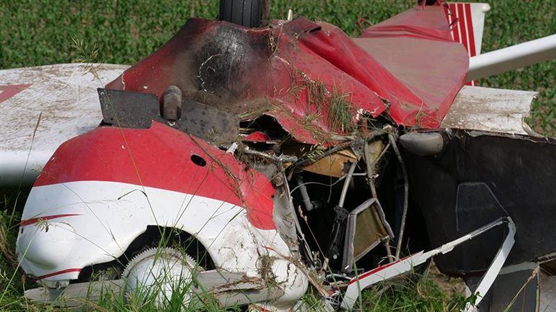В США в результате крушения легкомоторного самолета погибли 5 человек