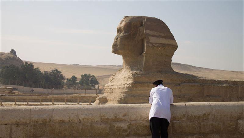 Новая статуя Сфинкса обнаружена в Египте