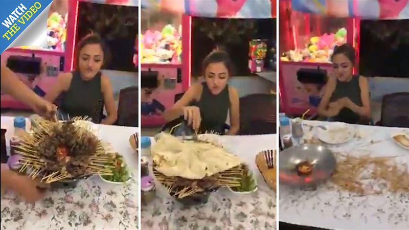 Юная турчанка проглотила 255 кебабов за 23 минуты