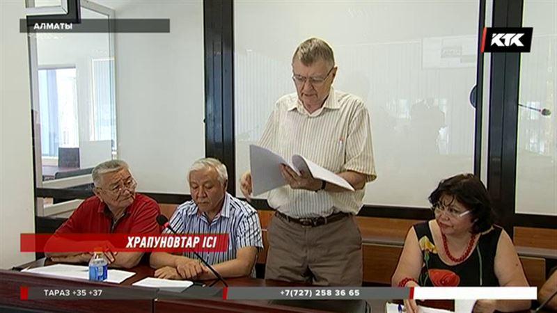 Яков Заяц  Храпуновтың кезекті былығын әшкереледі