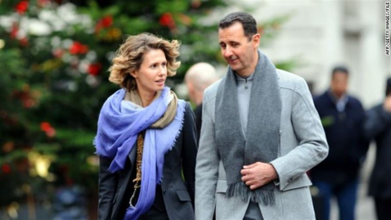 Заболевшая раком жена Асада обратилась к народу