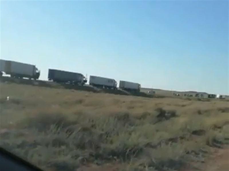 ВИДЕО: Қарағанды-Балқаш тасжолындағы жол апатынан 6 адам қаза тапты