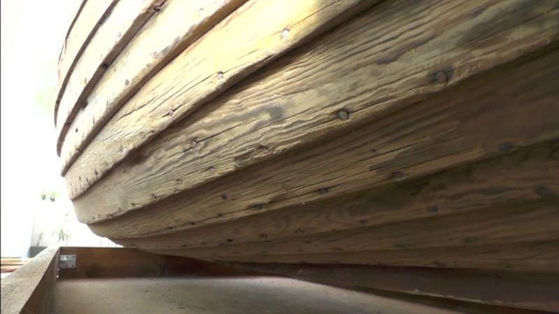 ВИДЕО: Қара теңізде ежелгі римдіктердің кемесі табылды