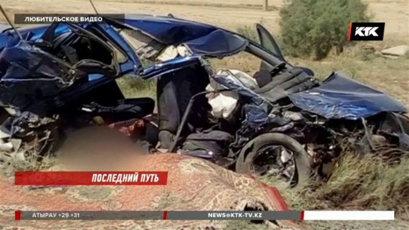 В Карагандинской области в ДТП погибли 8 человек