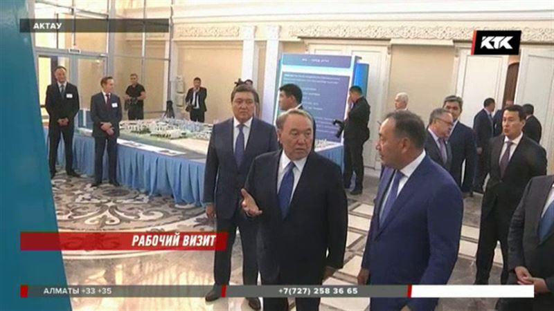 Нурсултан Назарбаев прибыл в Актау на саммит прикаспийских государств