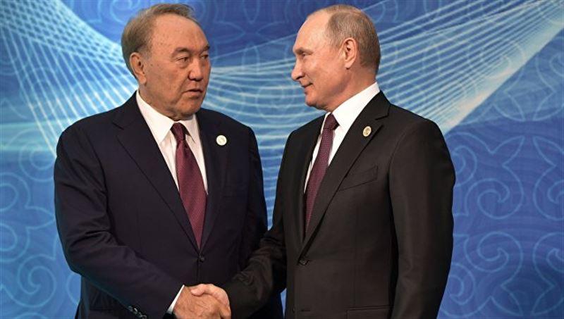 Путин и Назарбаев обсудили ситуацию вокруг генсека ОДКБ