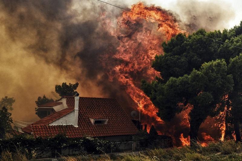 ВИДЕО: Грекияда төтенше жағдай жарияланды