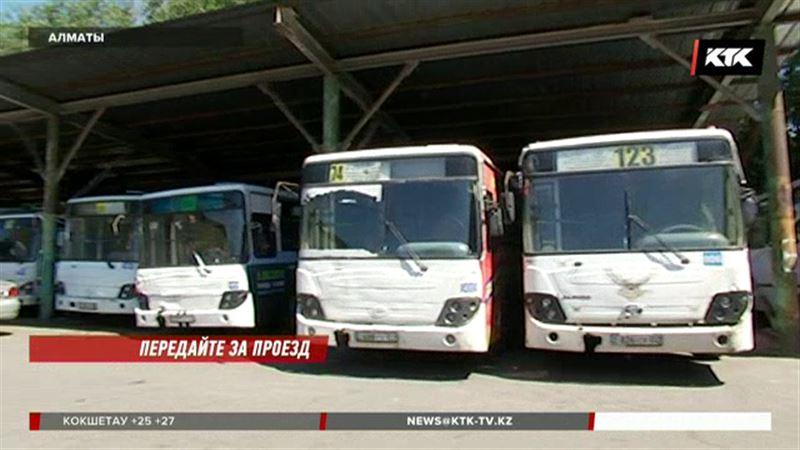 В Алматы 60 водителей остались без работы