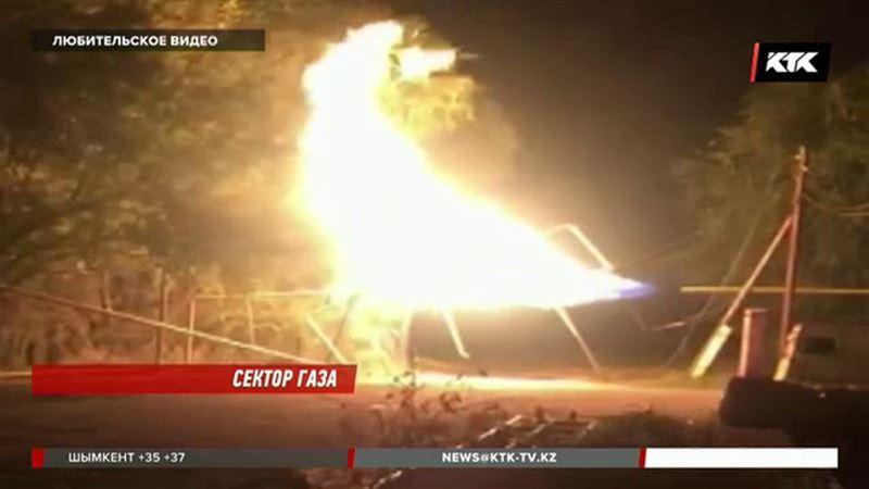 В Алматинской области фура оставила без газа целый поселок
