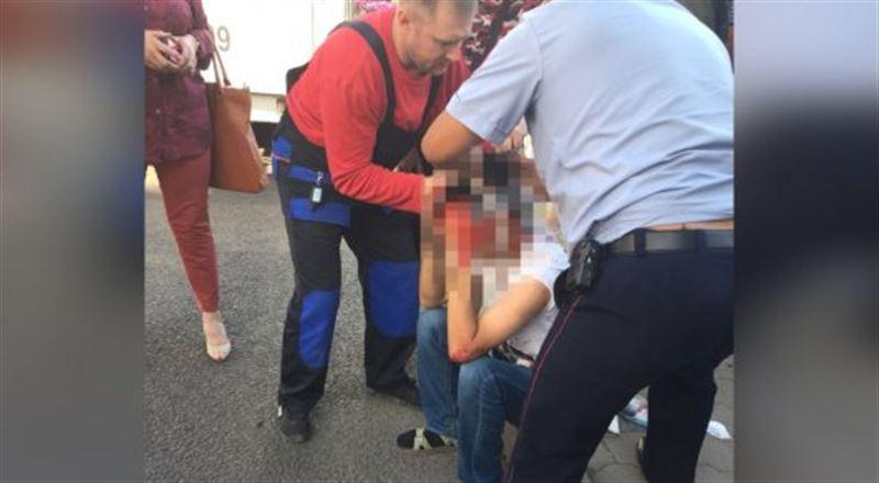 16-летний кондуктор избил пассажира в Караганде