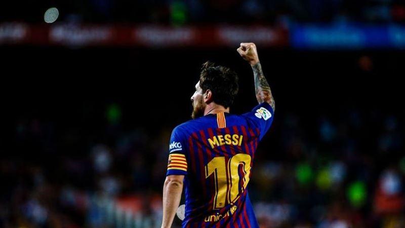 Месси забил 6000 гол «Барселоны» в Ла Лиге