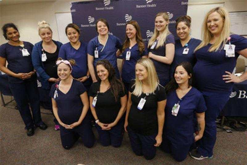 В больнице Аризоны одновременно забеременели 16 медсестер