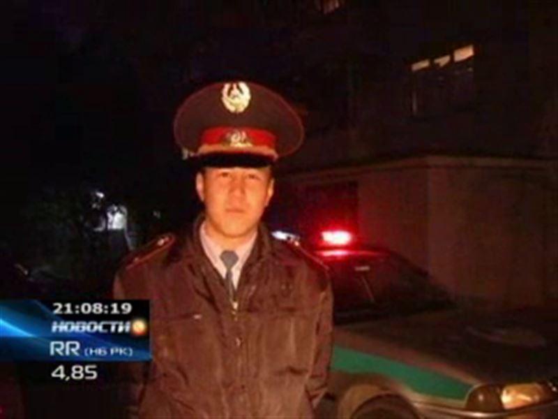 Алматинского полицейского представят к награде
