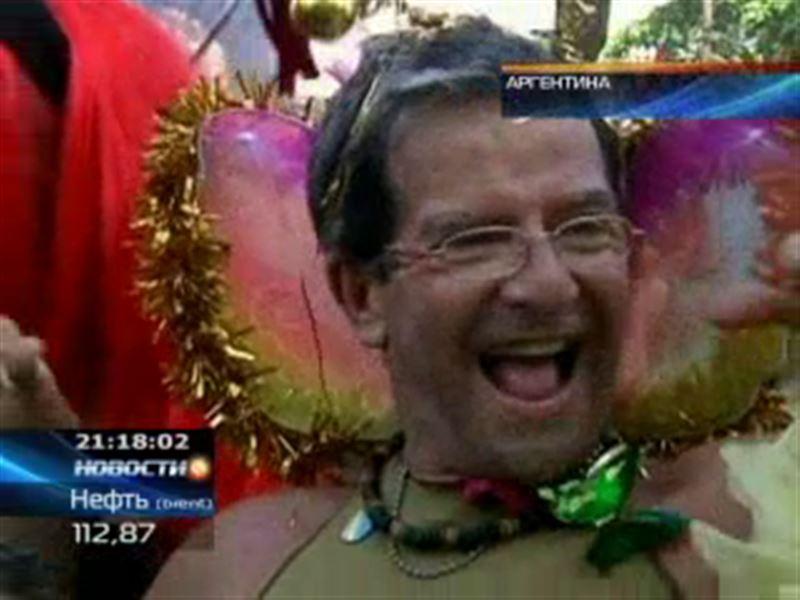 В Аргентине состоялся праздник сексуальных меньшинств
