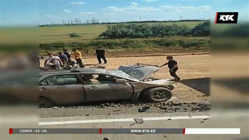 Павлодар облысында жол апатынан 2 адам қаза тапты