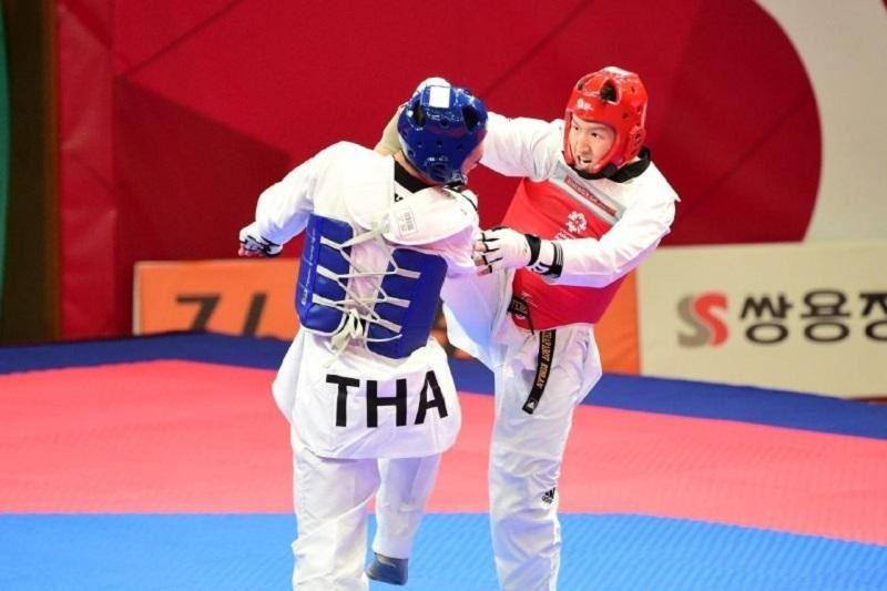 Азияда-2018:Таэквондодан екі қазақстандық спортшы жартылай финалға өтті