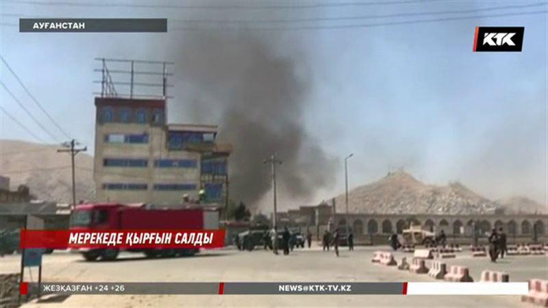 Кабулда президент сарайына шабуыл жасалды