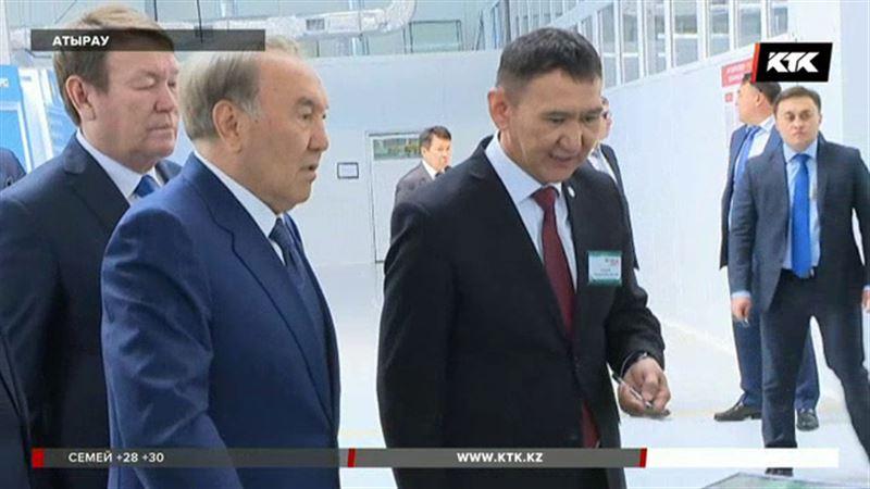Нұрсұлтан Назарбаев Атырау облысының жолдарын сынға алды