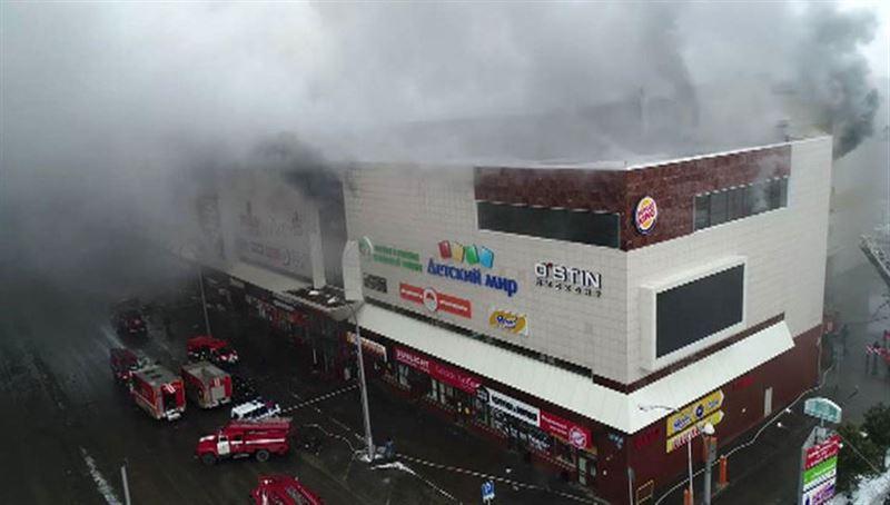 СМИ: Пожар в «Зимней вишне» начался со светодиодного светильника