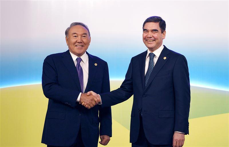 Нурсултан Назарбаев встретился с Гурбангулы Бердымухамедовым