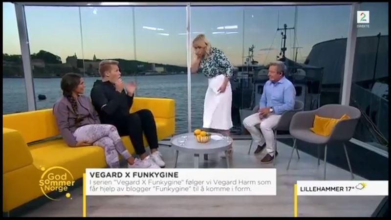 Телеведущую стошнило в прямом эфире шоу