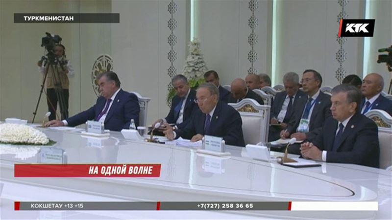 Президент Назарбаев поговорил с коллегами о проблемах Арала