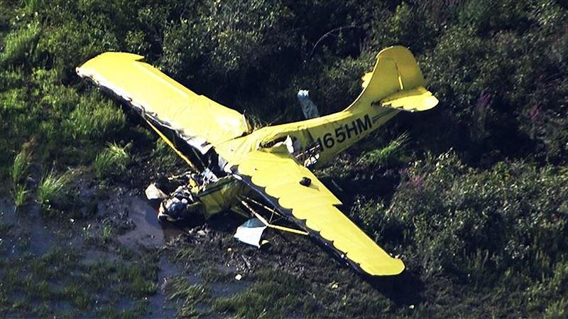 Самолет с перевозившими прах отца братьями разбился в США