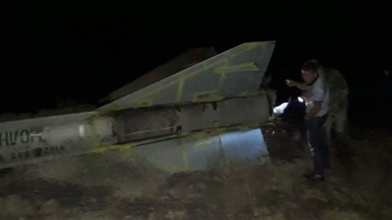 Фрагмент ракеты обнаружены в Атырауской области