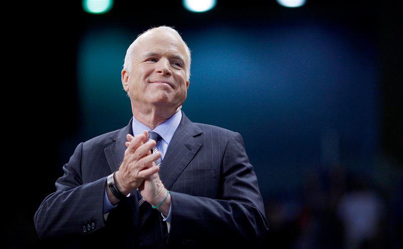 Сенатор Джон Маккейн өмірден озды