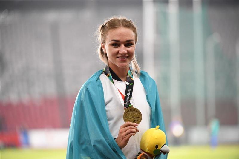Легкоатлетка Элина Михина выиграла бронзовую медаль на Азиаде