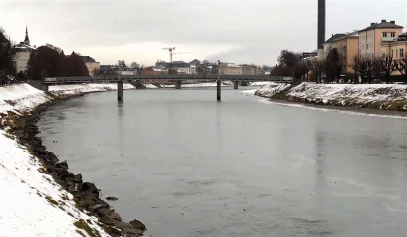 В Германии, Австрии и Германии пошел снег