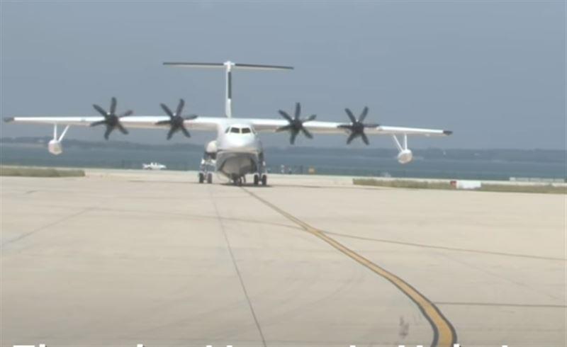 В Китае успешно испытали крупнейший самолет-амфибию