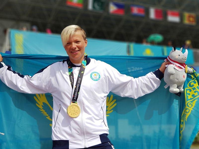 Инна Клинова - приносит «золото» в копилку Казахстана