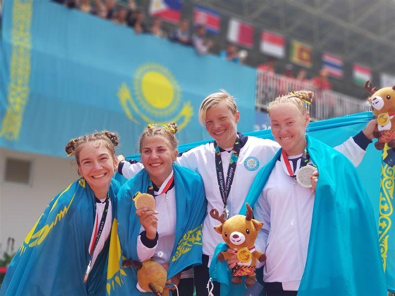 Снова медаль в гребле: Женская команда завоевала «серебро»