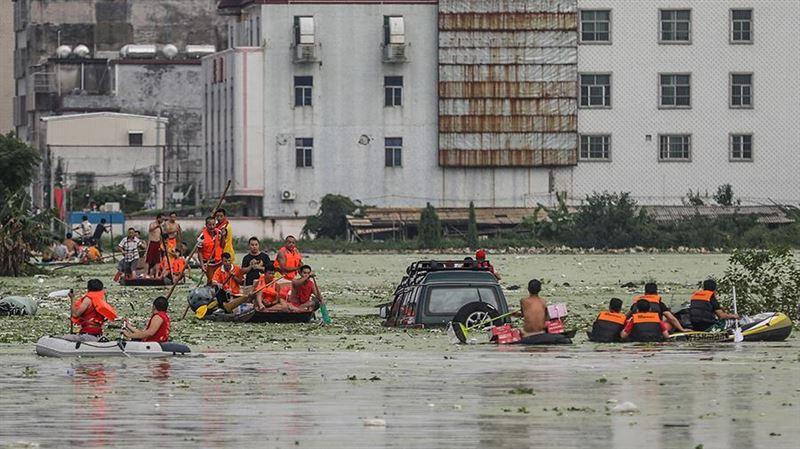 Пять человек погибли в результате наводнения в Китае